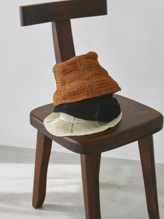 TODAYFUL/Abaca Bucket Hat/ハット
