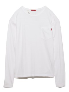 LITTLE UNION TOKYO/【LITTLE UNION】FRIEDEN L/S POCKET TEE/カットソー/Tシャツ