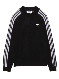 LITTLE UNION TOKYO/【adidas】adidas 3 STRIPES SWEATER/ニット