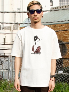 LITTLE UNION TOKYO/【LITTLE UNION】EXPO MANKIND S/S TEE/カットソー/Tシャツ