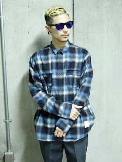 LITTLE UNION TOKYO/【LITTLE UNION】BOYS CHECKED FLANNEL SHIRT/シャツ/ブラウス