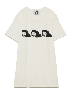 LITTLE UNION TOKYO/【NO PANTIES】FACE T-shirt/カットソー/Tシャツ