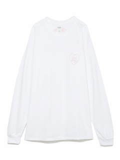 LITTLE UNION TOKYO/【BESIDE THE BAG】CS ハートロゴ L/S TEE/カットソー/Tシャツ