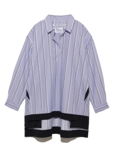 LITTLE UNION TOKYO/【White Mountaineering】WM SKIPPER COLLAR CONTRASTED SHIRT/シャツ/ブラウス