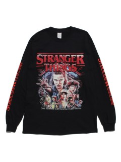 LITTLE UNION TOKYO/【HOMAGE TEES】HT STRANGER THINGS L/S TEE/カットソー/Tシャツ