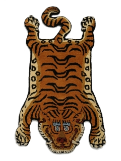 LITTLE UNION TOKYO/【DETAIL】D Tibetan Tiger Rug DTTR-01/Small/ラグ/マット