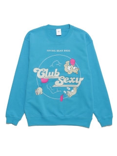 LITTLE UNION TOKYO/【Club Sexy】CS FLYING BEAR BROS CREW NECK/スウェット
