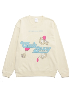 LITTLE UNION TOKYO/【NO PANTIES】CS FLYING BEAR BROS CREW NECK/スウェット