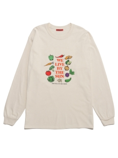LITTLE UNION TOKYO/【LITTLE UNION】VEGGIES SUN & MOON L/S TEE/カットソー/Tシャツ