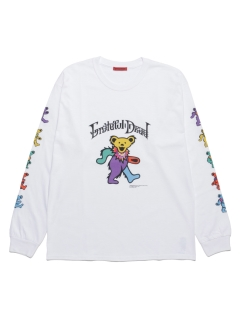 LITTLE UNION TOKYO/【GRATEFUL DEAD meets LITTLE UNION】GRATEFUL DEAD BEARS L/S TEE/カットソー/Tシャツ