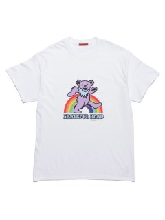 LITTLE UNION TOKYO/【GRATEFUL DEAD meets LITTLE UNION】GRATEFUL DEAD RAINBOW S/S TEE/カットソー/Tシャツ