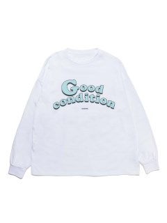 LITTLE UNION TOKYO/【SUPERTHANKS】ST GOOD CONDITION BIC LONG T-SHIRT/カットソー/Tシャツ