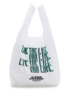 LITTLE UNION TOKYO/【SUPERTHANKS】ST LOVE THE LIFE... ECO BAG/ハンドバッグ