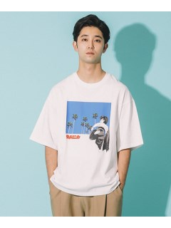 LITTLE UNION TOKYO/【カメレオン meets LITTLE UNION】ヤザワ S/S TEE/カットソー/Tシャツ