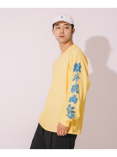 LITTLE UNION TOKYO/【カメレオン meets LITTLE UNION】爆妖鬼 L/S TEE/カットソー/Tシャツ