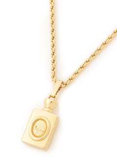USAGI Vintage/Christian Dior/logo bottle necklace/ネックレス