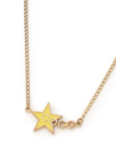 USAGI Vintage/CHANEL/coco mark star necklace/ネックレス