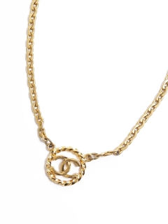 USAGI Vintage/CHANEL/coco mark necklace/ネックレス