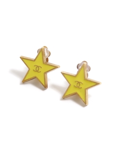 USAGI Vintage/CHANEL/coco star earrings/イヤリング