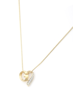 USAGI Vintage/GIVENCHY/G logo heart necklace/ネックレス