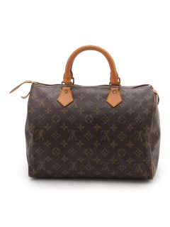USAGI Vintage/Louis Vuitton/monogram speedy 30cm/ボストンバッグ