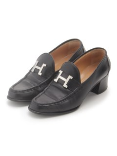 USAGI Vintage/HERMES/H CONSTANCE Loafers (size.37)/パンプス