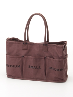 VegieBAG/VegieBag LARGE SOIL BROWN 19AW/トートバッグ