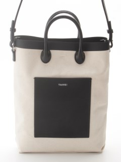 YAHKI/Canvas 2Way Mini Shoulder Bag (YH-390)/ショルダーバッグ