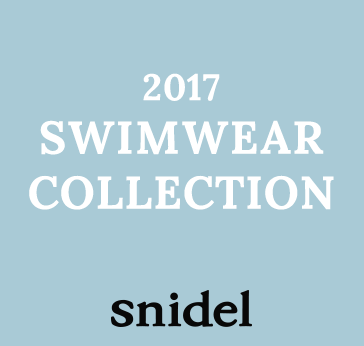 snidel 2017 SWIMWEAR COLLECTION