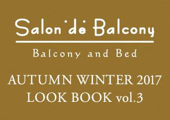 AUTUMN WINTER 2017 LOOK BOOK vol.3