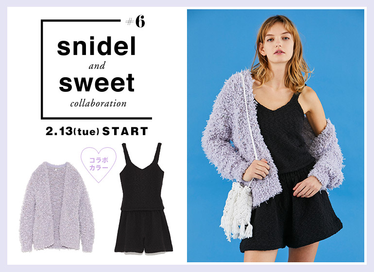 snidel and sweet collaboration #6